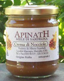 Honig-Haselnuss-Aufstrich – crema di nocciole